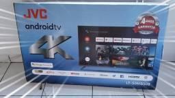 "TV 50"" SMART JVC ANDROID 4K ULTRA HD COMPLETA"