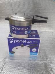 Panela de pressão- panelux  4.5 litros- nova- nunca usada.