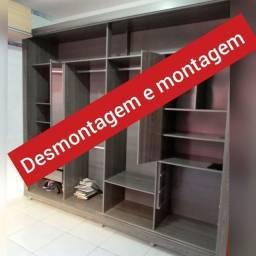 Título do anúncio: montador de móveis e montagem