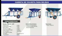 Carreta Big Bag Vagão graneleiro