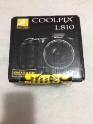 Máquina Semi Profissional Nikon L810