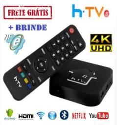 Tablet htv5 Box 4K UHD - Com Nota Fiscal
