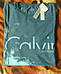 Camisa Original Calvin Klein (M) (Peça de shopping)