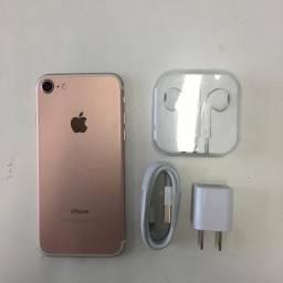 Vendo iPhone 7 - usado - Rosa