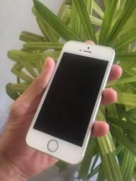Iphone SE Prata/vendo ou troco