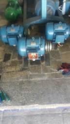 Motor 10 cv de baixa rotação