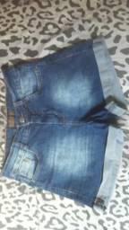 Trouco shorts por vestidos