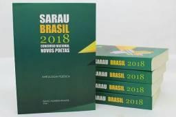 Livro Sarau Brasil 2018 ( ANTOLOGIA POÉTICA) Editora vivara.