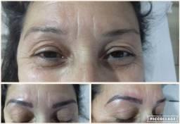 Micro pigmentação de sobrancelhas e Depilação