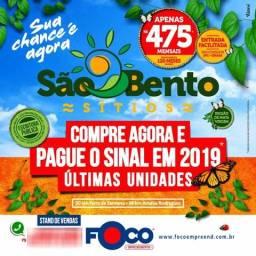 Sitios São Bento - MINISITIOS DE 1000M QUADRADOS