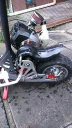 Patinete ecooter motorizado