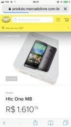 Celular HTC m8 novo na caixa