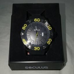 856748f1dd0 Relógio Masculino Seculus Calendário Esportivo 28390gpsbpu1