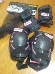 Kit proteção patins