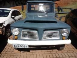 Ford F 75 ano 1968 com carroceria de madeira. 40 anos com o mesmo dono