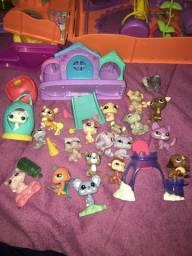Brinquedos colecionador littlest petshop