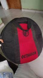 Vendo bag e prato b8 splash de 8 da sabian