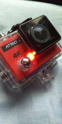 Vendo ou troco câmera 4K por bicicleta com duplo amortecedor