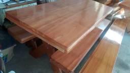 mesa de cedro rosa 2 metros  1.590.00