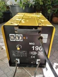 Máquina de solda MIG 180A