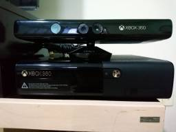 Microsoft Xbox 360 + Kinect + 1 controle
