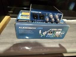 Placa de áudio, AUDIOBOX, TOP DP MERCADO