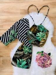 Kimono e cropped