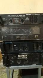 Vendo amplificadores profissionais.