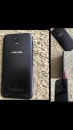 Samsung j7pro preto 64 gb