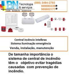 Central de Incêndio- Sistema Iluminação Emergência