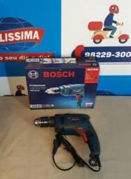 Furadeira de impacto Bosch Gsb 550 Re ? Entrega grátis *