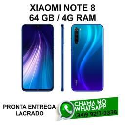 Celular Xiaomi Note 8 64Gb Original Lacrado * Pronta Entrega * Loja Física