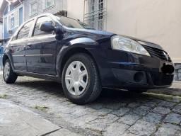 Logan 1.6 8v 2012 Senhor Garagem 69 mil km+Gnv Novo+Revisoes+Doc2020+Ac.trocas