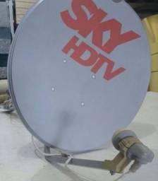 Bacia completa antena sky