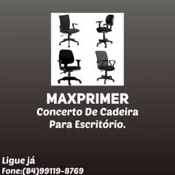 Concerto de cadeiras para escritório