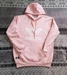 Moletom Rosa Adidas!