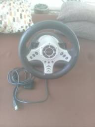 Controle de volante para PS2/PC