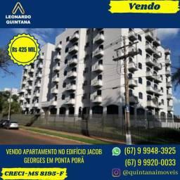 Vendo Apartamento no Edifício Jacob Georges em Ponta Porã-MS