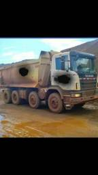 Scania g 440 8×4 2013 caçamba, valor 295 mil