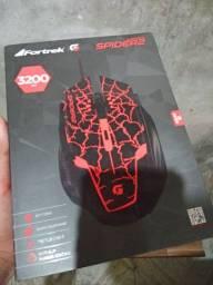 Mouse Gamer Fortrek Spider 3200 DPI e Sensor Óptico