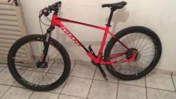 "Bike MTB Giant Talon 1 Tamanho 19"" impecável"