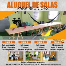 Aluguel de salas - Tijuca