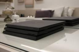 Playstatio 4 PRO + 2x Dualshock 4 + Jogos Opcionais