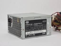 Fonte Cooler Master 400W/350W Revisado 100% a partir de