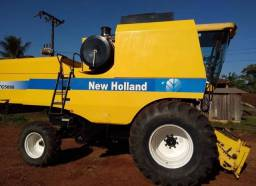 Título do anúncio: Colheitadeira New Holland TC5090 (entrada+parcelas)