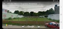 Terreno com 1.080 m² às margens da Rodovia BR 101 (Área Comercial) em Igarassu - PE