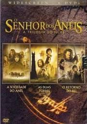 Box trilogia o senhor dos anéis (6 discos)