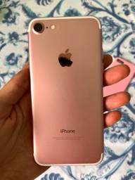 Vendo iphone 7 128gb rose gold usado
