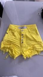 Título do anúncio: Short degrant amarelo