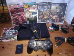 Playstation 2 desbloqueado e completo